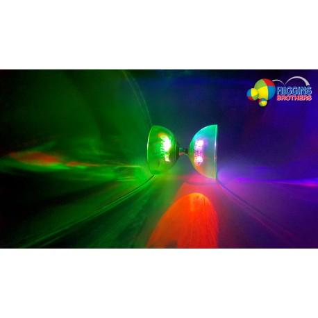 """HB LED Revolution Bearing Diabolo - Length 5"""" Diameter 4.12"""" 235g"""
