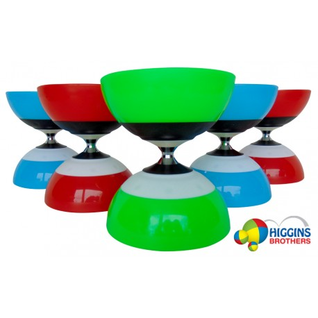 "HB Rush Triple Bearing Diabolo - Length 5.75"" Diameter 5"" 235g"