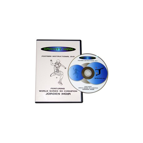 Gravity Man Footbag DVD