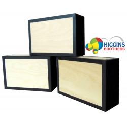 Henrys Cigar Box - Wood Finish
