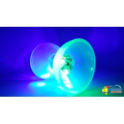 "HB LED DIABOLO - Length 4.75"" Diameter 4.25"" 200g"