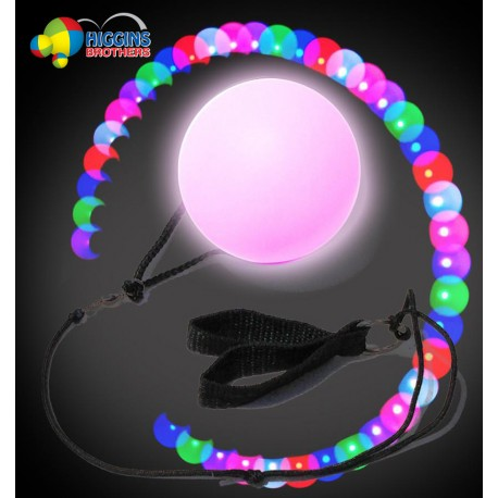 Lighted LED Poi