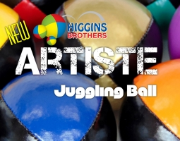 NEW HIGGINS BROTHERS ARTISTE JUGGLING BALL - 155 g - 2.83